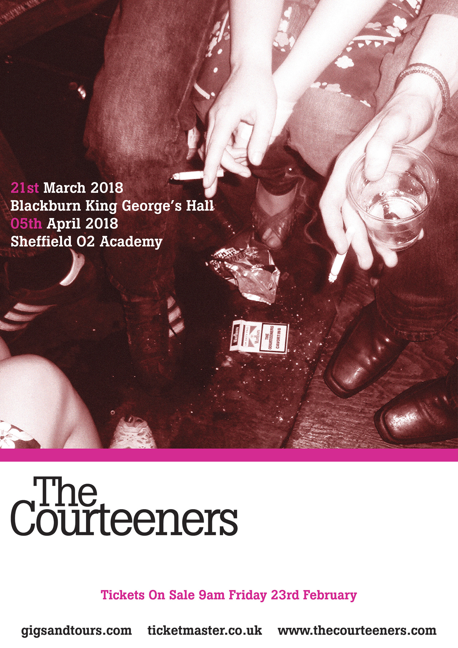 Courteeners Warm Up Shows!