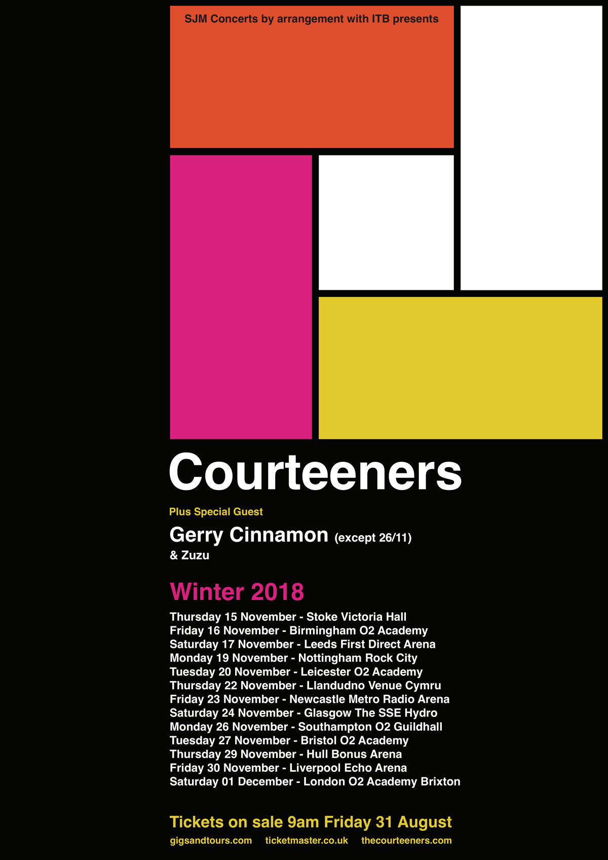 Courteeners_winter_tour_2018